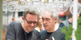 Albert y Ferran Adrià, el día de la presentación.