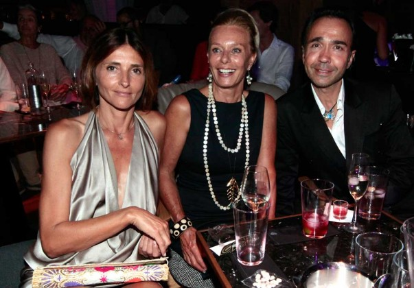 Ann, Silvia Serra y Mudja.