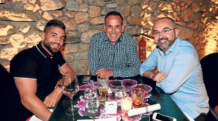 Aurelio Manzano y Vicente Roig.