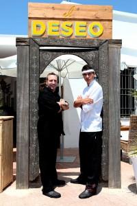 J. Antonio Ceballos y Diego Urbieta