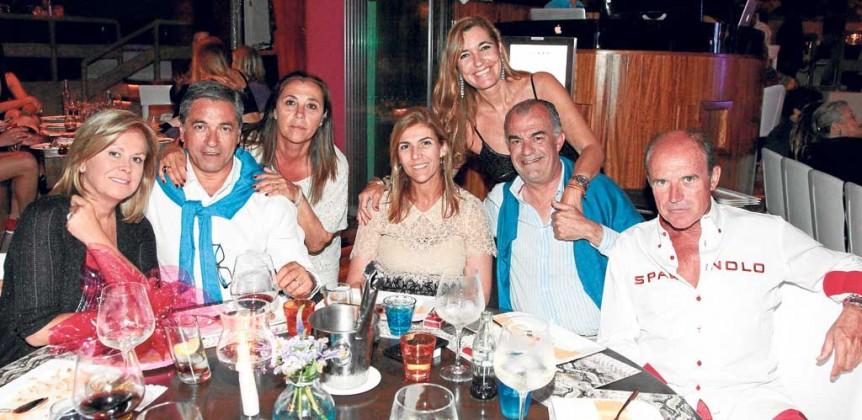 Rosa Clara, Josep Artigas, José Ribas y amigos.