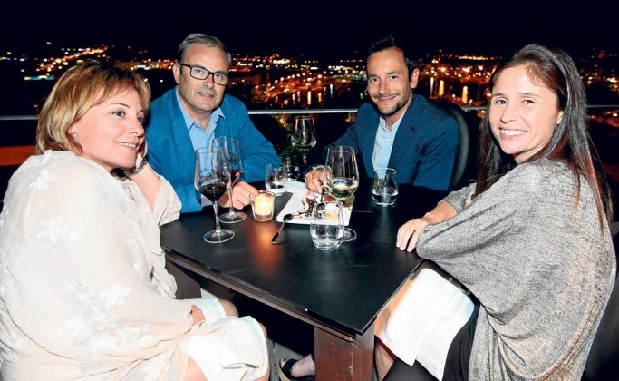 Vicent Torres, Rafa Ruiz y Milena
