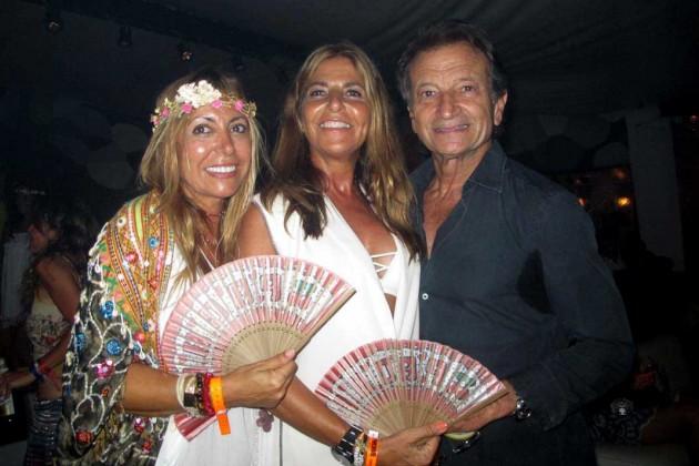 Angie, Eva Villalonga y Rafa Soldevilla