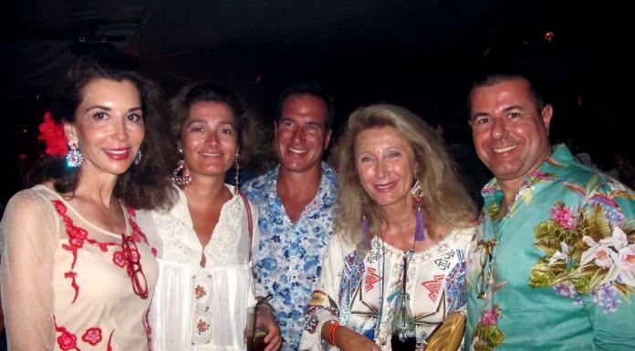 Fe, Diamante, Massimo, Nana Bottazzi y Alessandro Sarracino.
