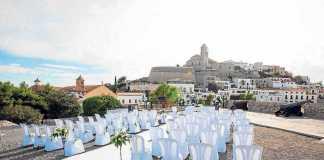 Impresionantes vistas desde el baluarte de Santa Llúcia. VICENTMARÍ
