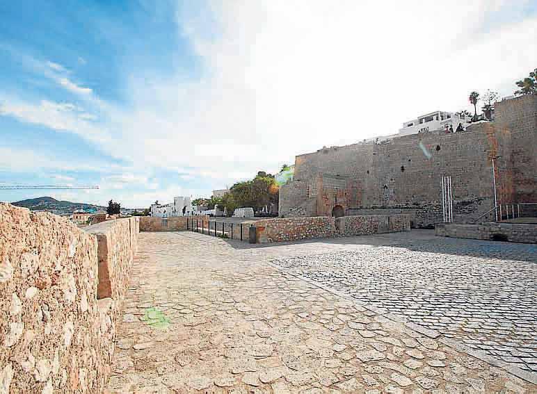 El baluarte de Sant Pere un escenario perfecto.