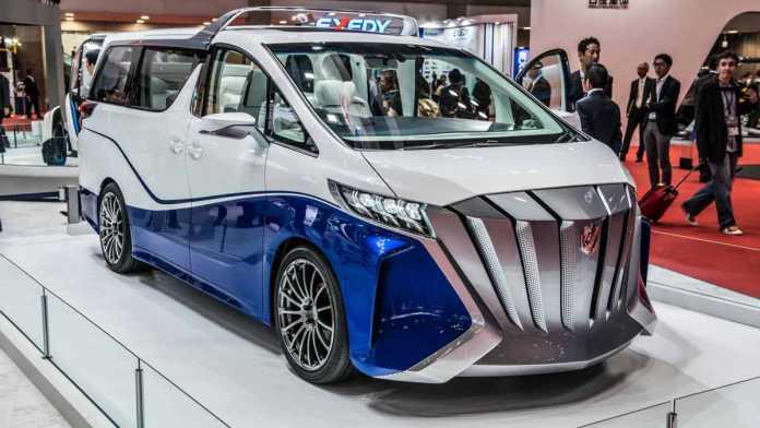 Toyota Alphard Hercule Concept