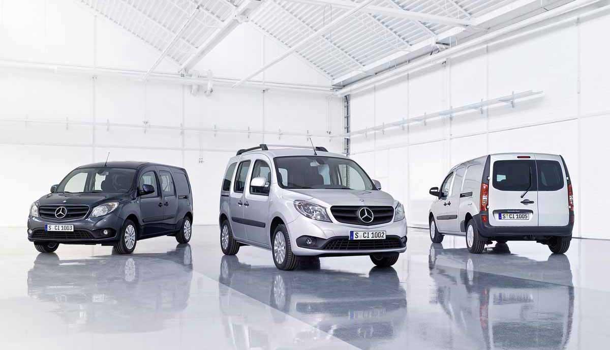 Mercedes-Benz Citan El compañero de trabajo perfecto