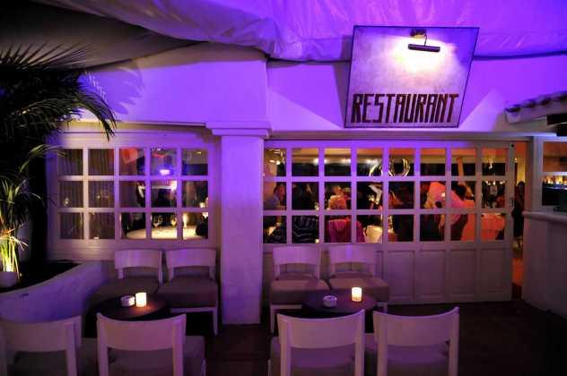El restaurante Pachá, el escenario ideal para comenzar la noche.