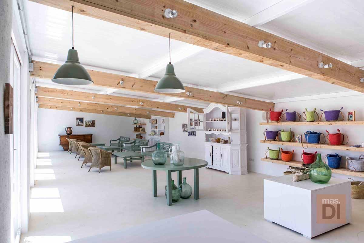 Aubergine Ibiza. Cocina natural en un espacio de ensueño