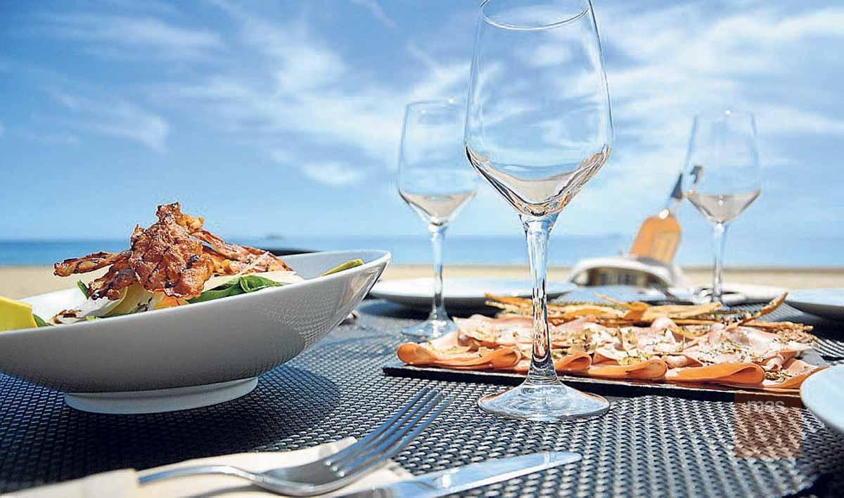 Sir Rocco Beach Club. La mejor cocina italiana también en invierno