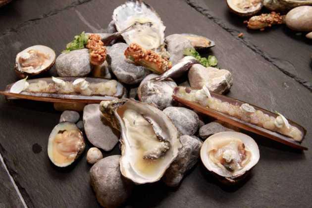 Originales presentaciones de los chefs holandeses.