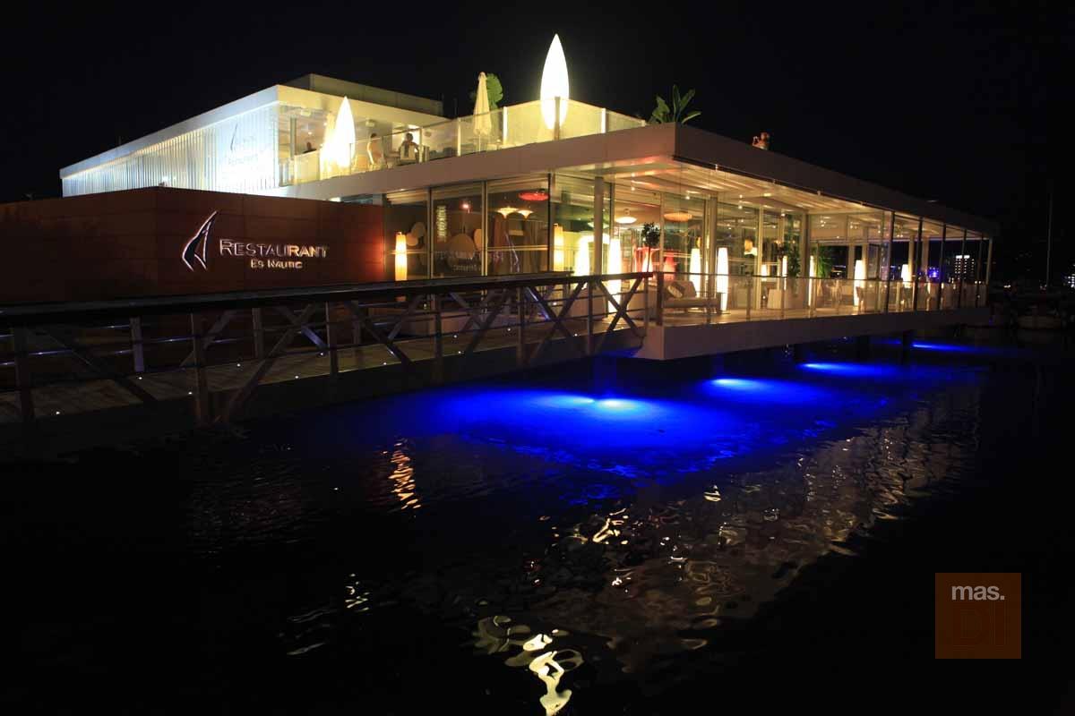 Restaurant Es Nàutic. Una invitación a las mejores vistas de la bahía