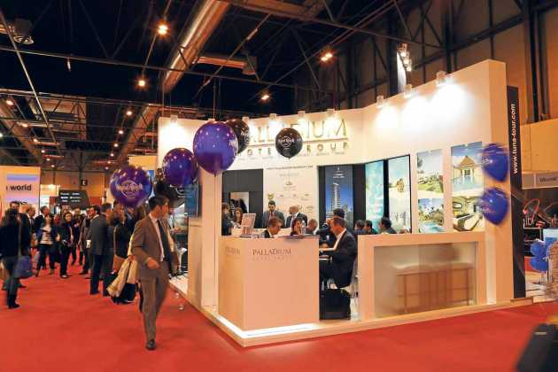 El estand de Palladium Hotel Group en Fitur.