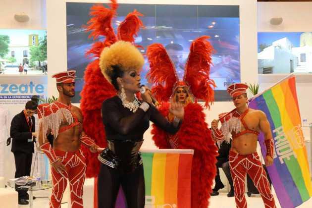 Un gran 'show' para promocionar el turismo gay.