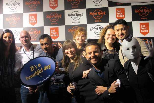 Hard Rock Café | Fiesta de presentación del HRHT