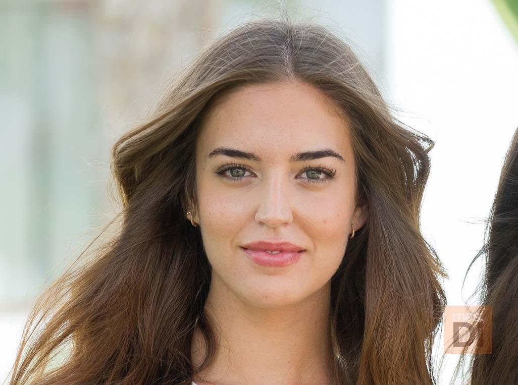 Clara Alonso, modelo: «Los diseños que se han mostrado en la pasarela han sido espectaculares»