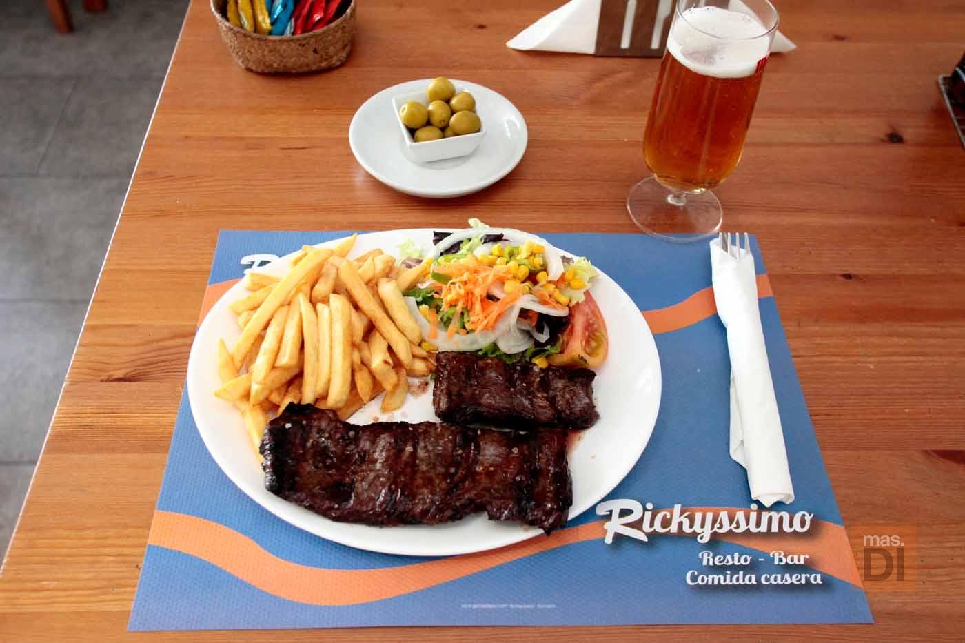 Restaurante Rickyssimo. Auténtica comida casera a un paso de ses Figueretes