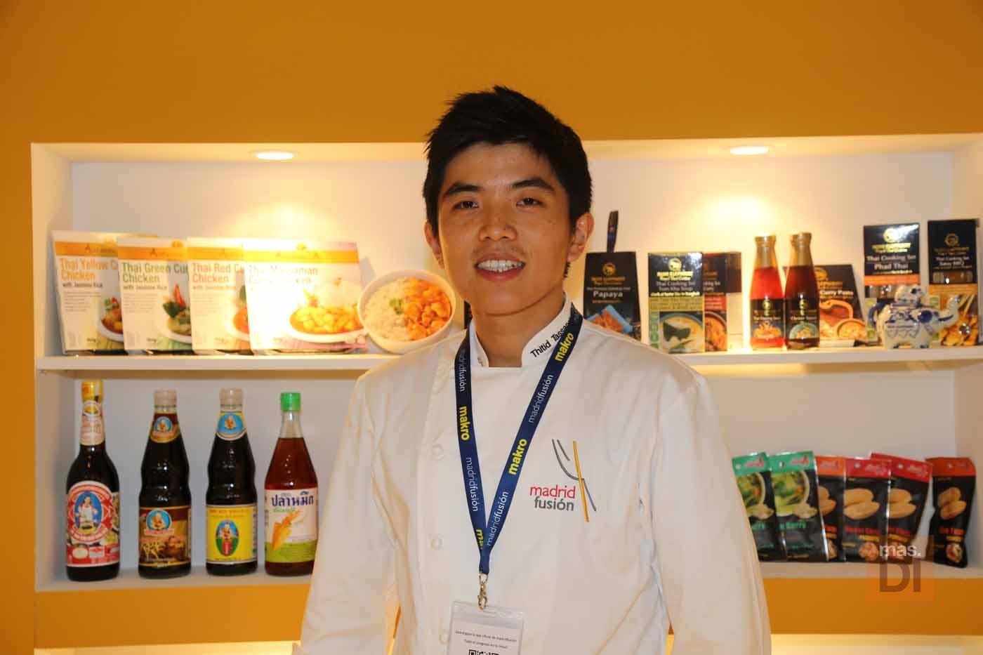 Thitid Tassanakajohn, chef: «La cocina asiática seduce el paladar»