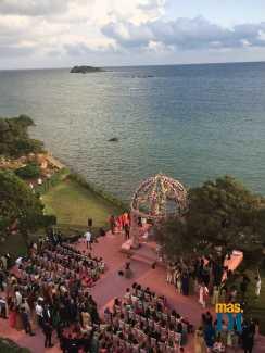 Una rica e impresionante ceremonia por el rito hindú