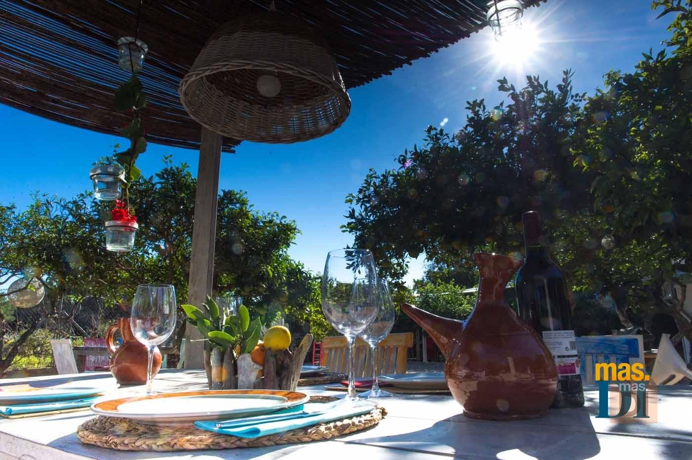 RESTAURANTE ES CALIU, Un paraíso gastronómico  en pleno campo ibicenco