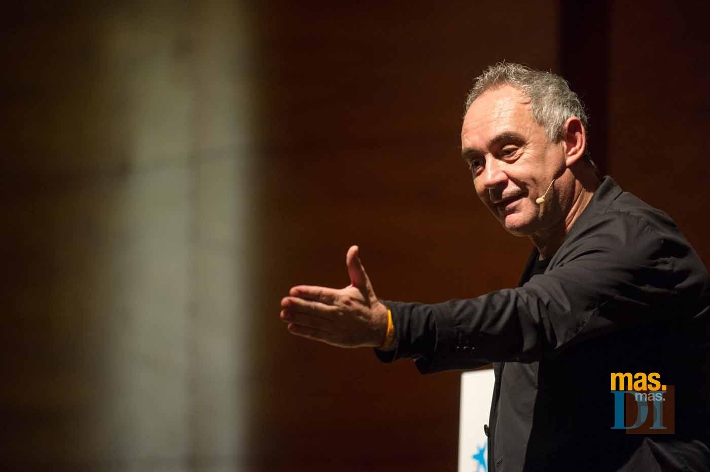Lección magistral de Ferran Adrià para acercarse al éxito