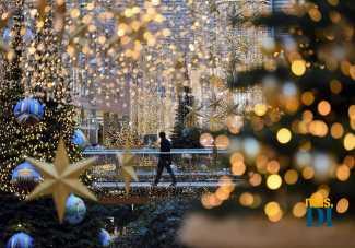 El mundo ilumina sus ciudades para festejar la Navidad