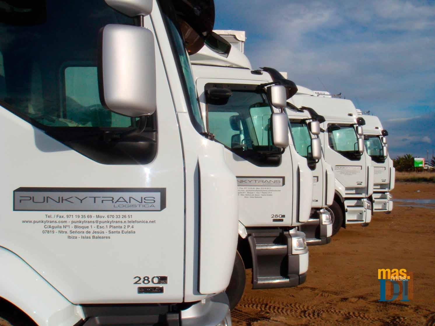 Punkytrans S.L., rapidez, eficacia y confianza para el transporte en las islas