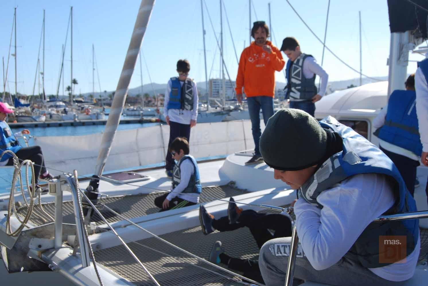 Club Nàutic Sant Antoni, la renovación de la bandera azul, garantía de calidad en Es Nàutic