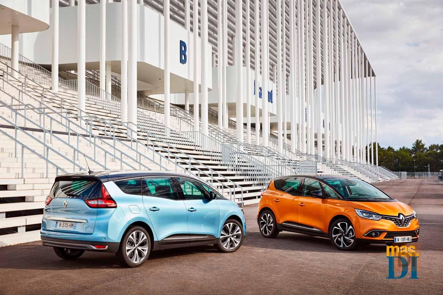 Renault Espace, Scénic y GranD Scénic. Práctico y placentero