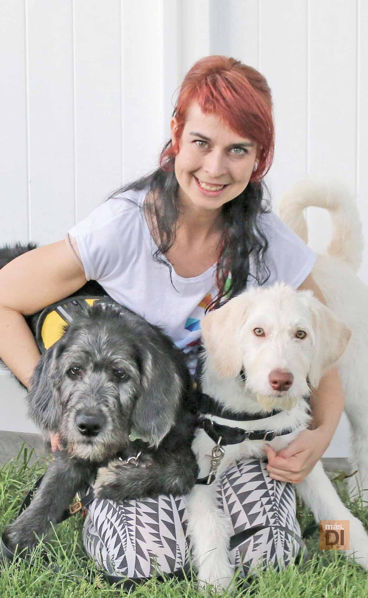Dora, adiestradora de perros en alerta médica
