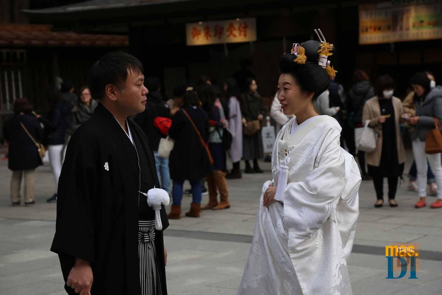 El ritual religioso marca las tendencias de bodas en Japón