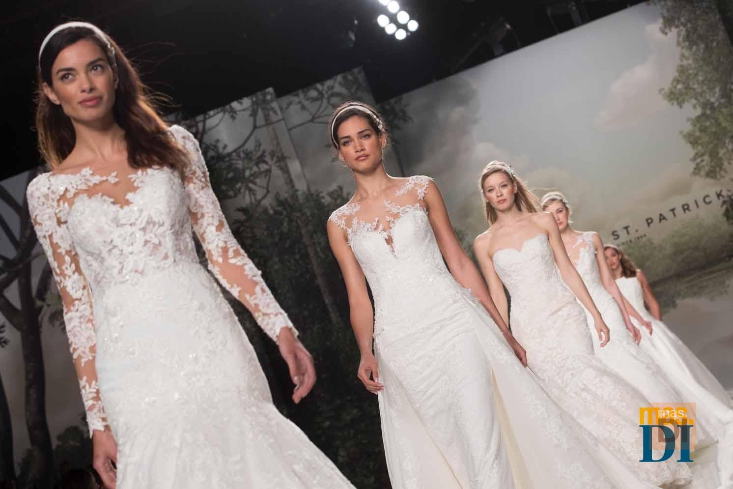 Romanticismo, elegancia y sensualidad para las novias en 2018
