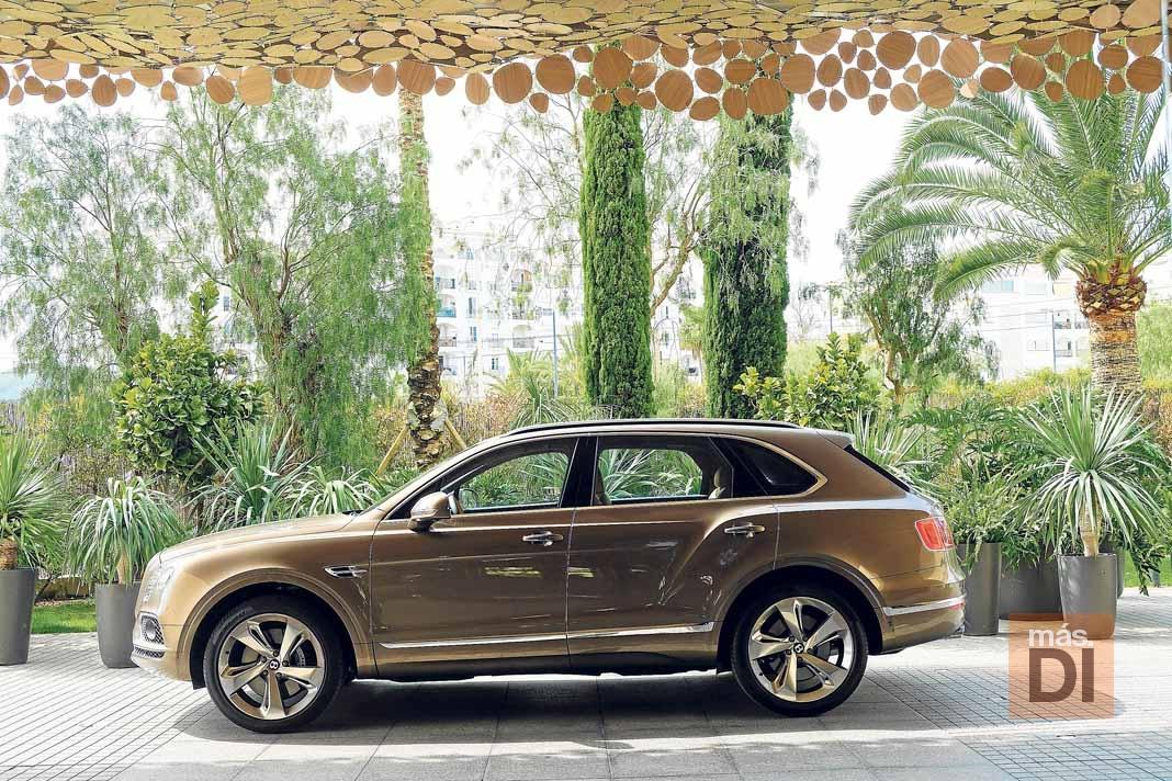 Bentley Bentayga para clientes