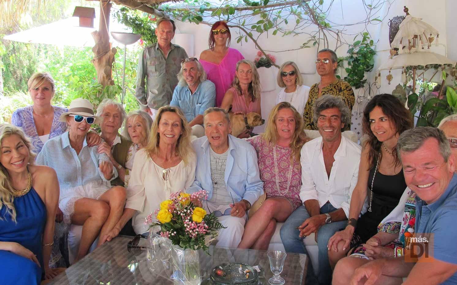 Helmut Berger celebra su 73 aniversario