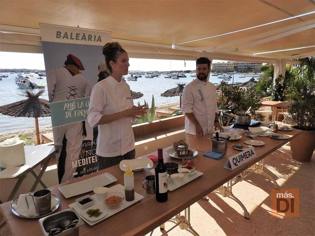 Baleària. Los 'Chefs(in)' en Formentera