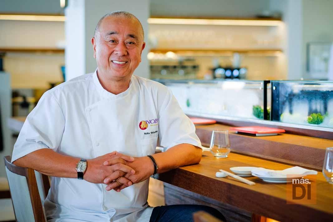Nobu Matsuhisa: «Solo pienso en innovación y cocinar»