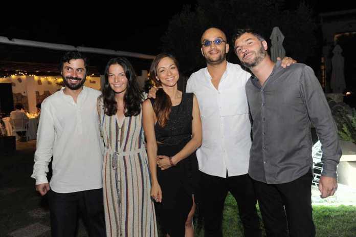 Chef Arround the World . Alessia Rizzetto, relaciones públicas de COTW con sus socios y amigos.