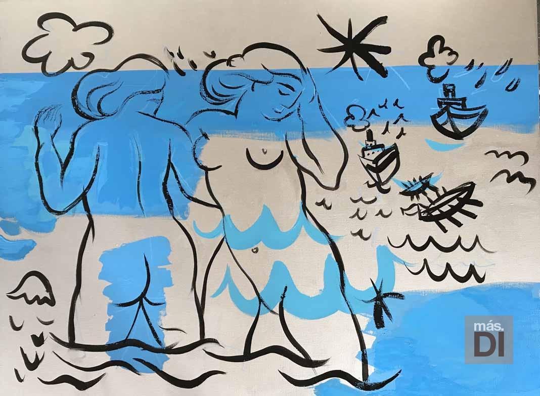 ELISABETH OLLÉ CURIEL | Artista: «quiero rendir homenaje  a los artistas del siglo xx»