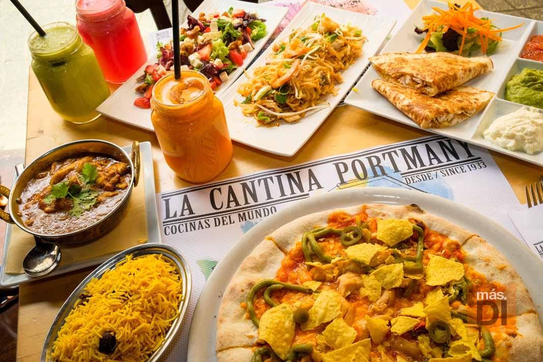 La Cantina Portmany, cocinas del mundo en Ibiza