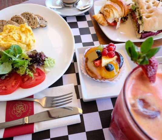 La Gourmandisse, cafeteria pasteleria