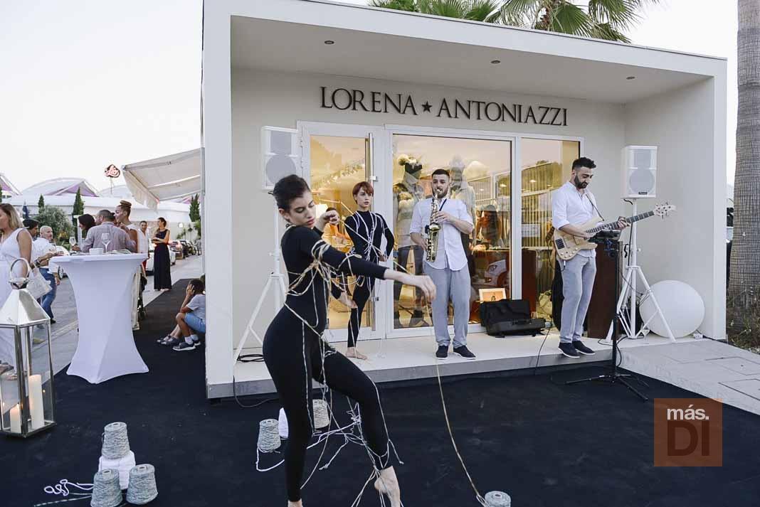 Lorena Antoniazzi inaugura la primera tienda de alta gama de la marca Umbro