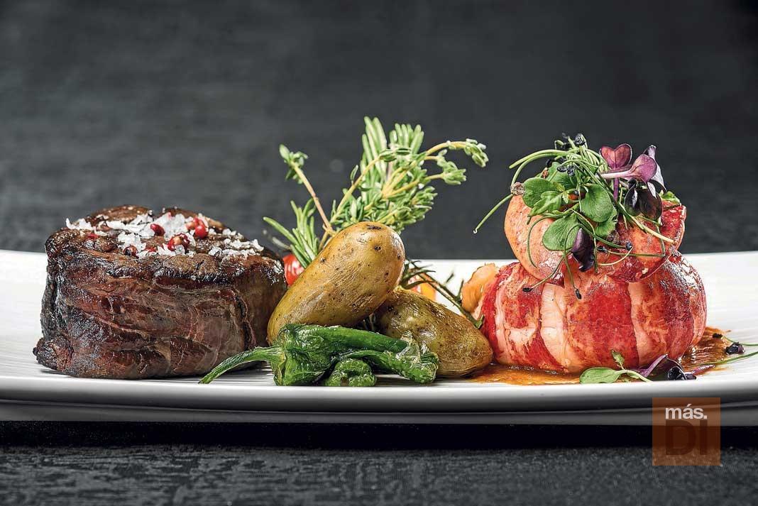Montauk Steakhouse. Carnes maduradas en sal del Himalaya