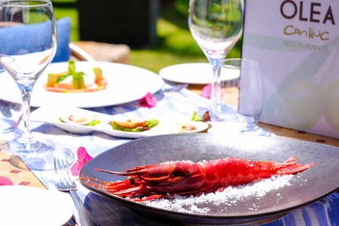 restaurante Olea de Can LLuc, a 10 minutos de Ibiza.