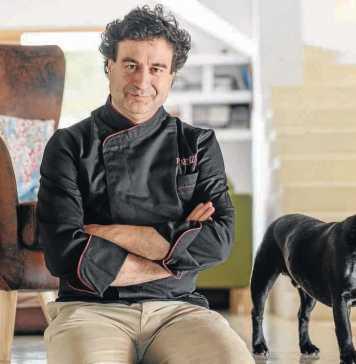 Pepe Rodríguez sueña con volver a Ibiza y disfrutar del mar y sus productos. Sergio G. Cañizares