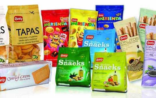 Diversas líneas de producto de Quely, que continúa innovando y adaptándose a los nuevos gustos y necesidades de los clientes.