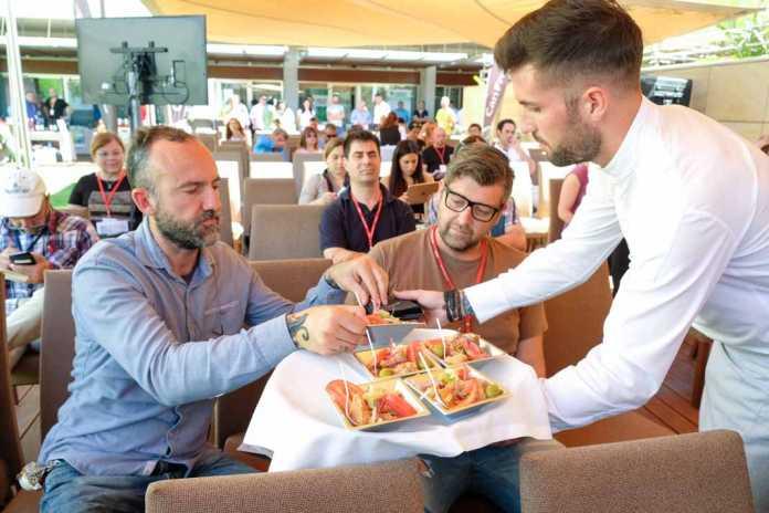 Sabors d'Eivissa. Degustación en el II Foro Profesional de Gastronomía del Mediterráneo.