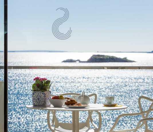 Sud Ibiza Suites. Panorámica increíble desde todas las habitaciones.