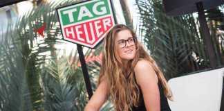 Tag Heuer. Gisela Pulido, diez veces campeona del mundo de kitesurf.