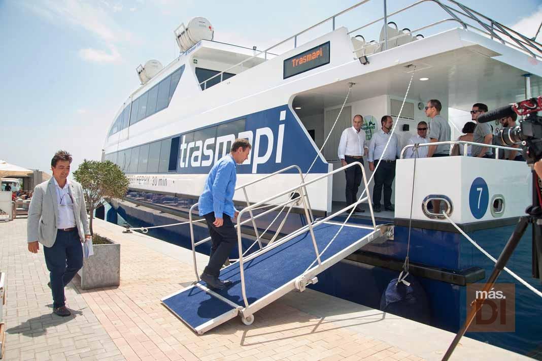 Trasmapi. Illetas Jet, un catamarán más eficiente para unir las Pitiüses
